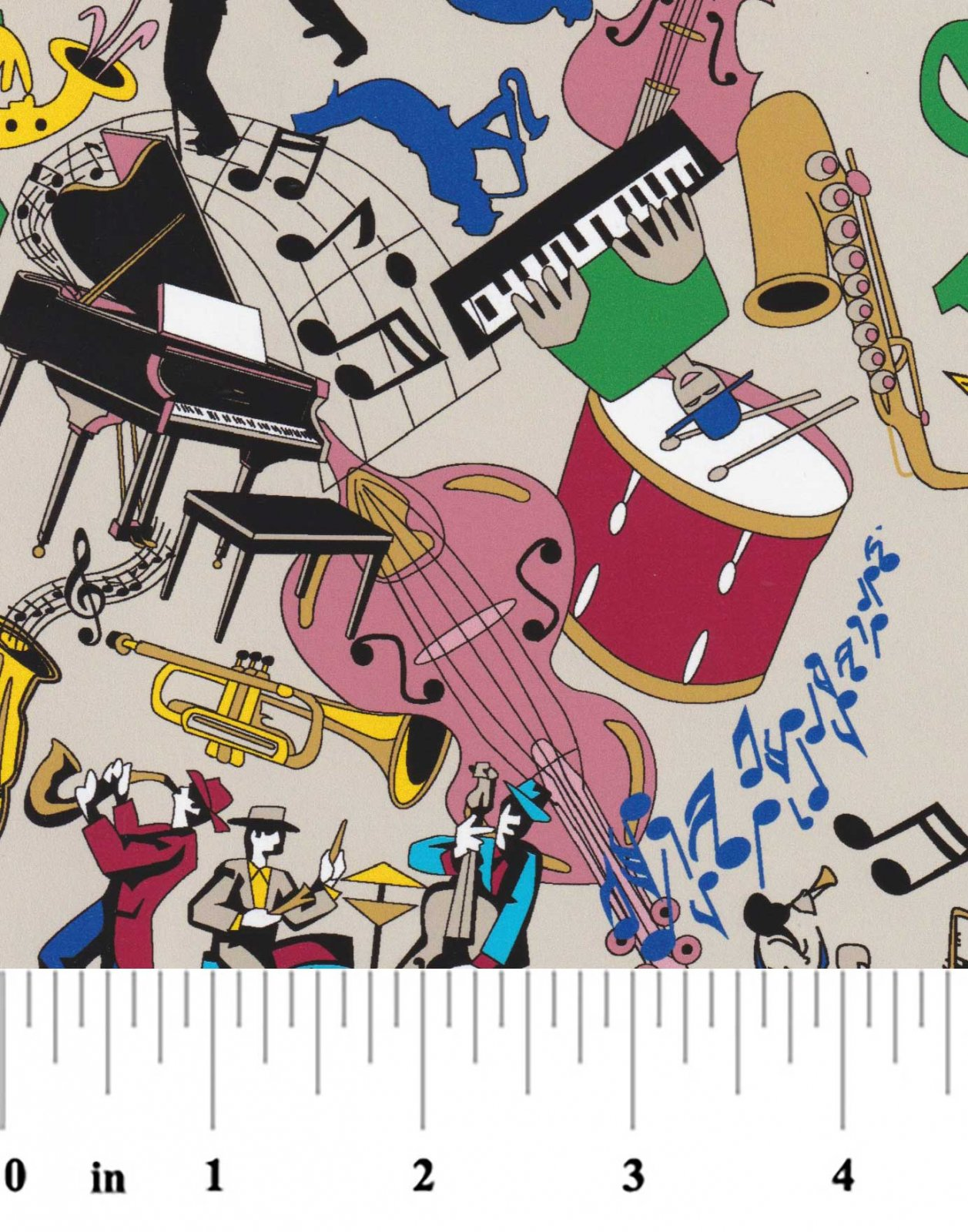 New Orleans Music Print 2328