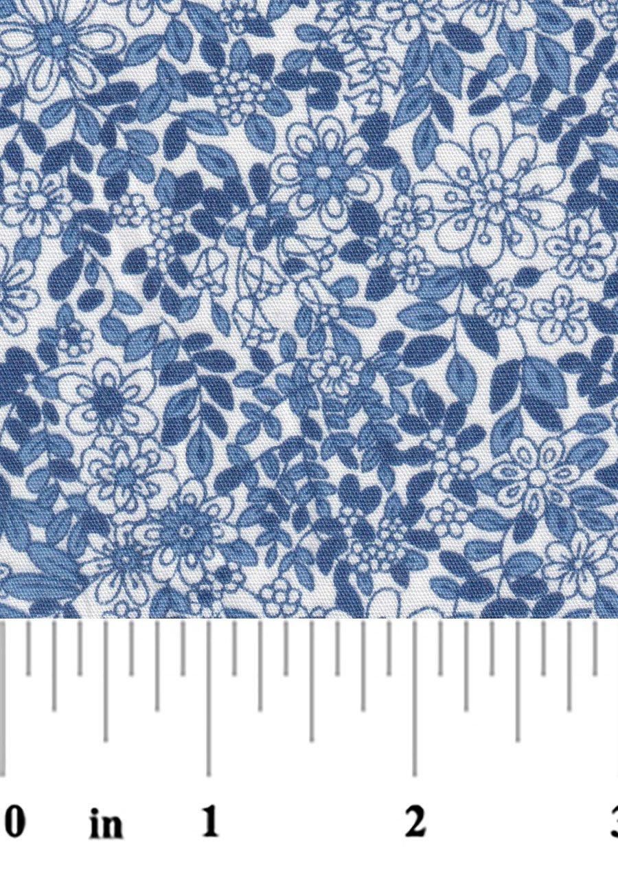Blue Floral 2338