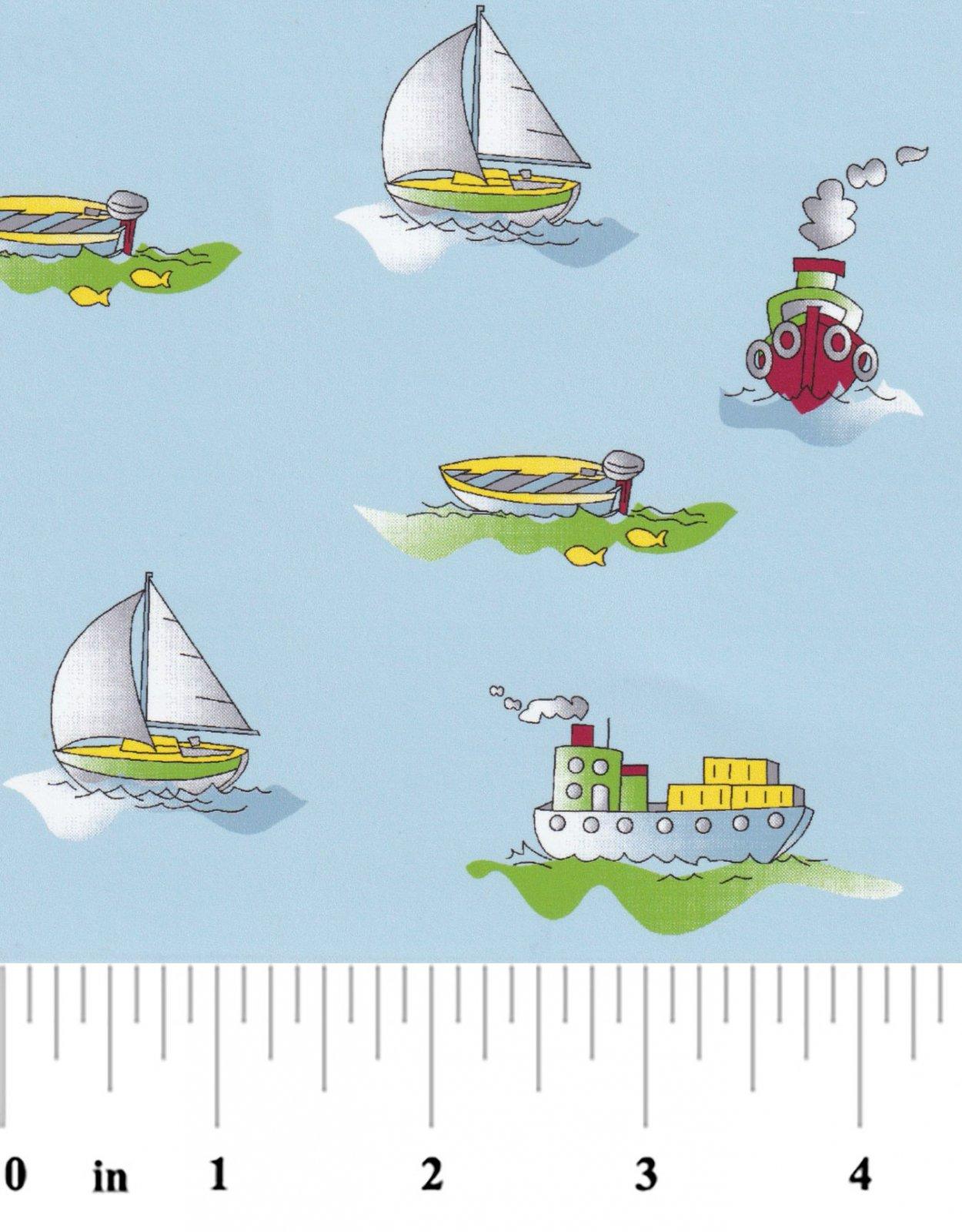 Boat Print 2358