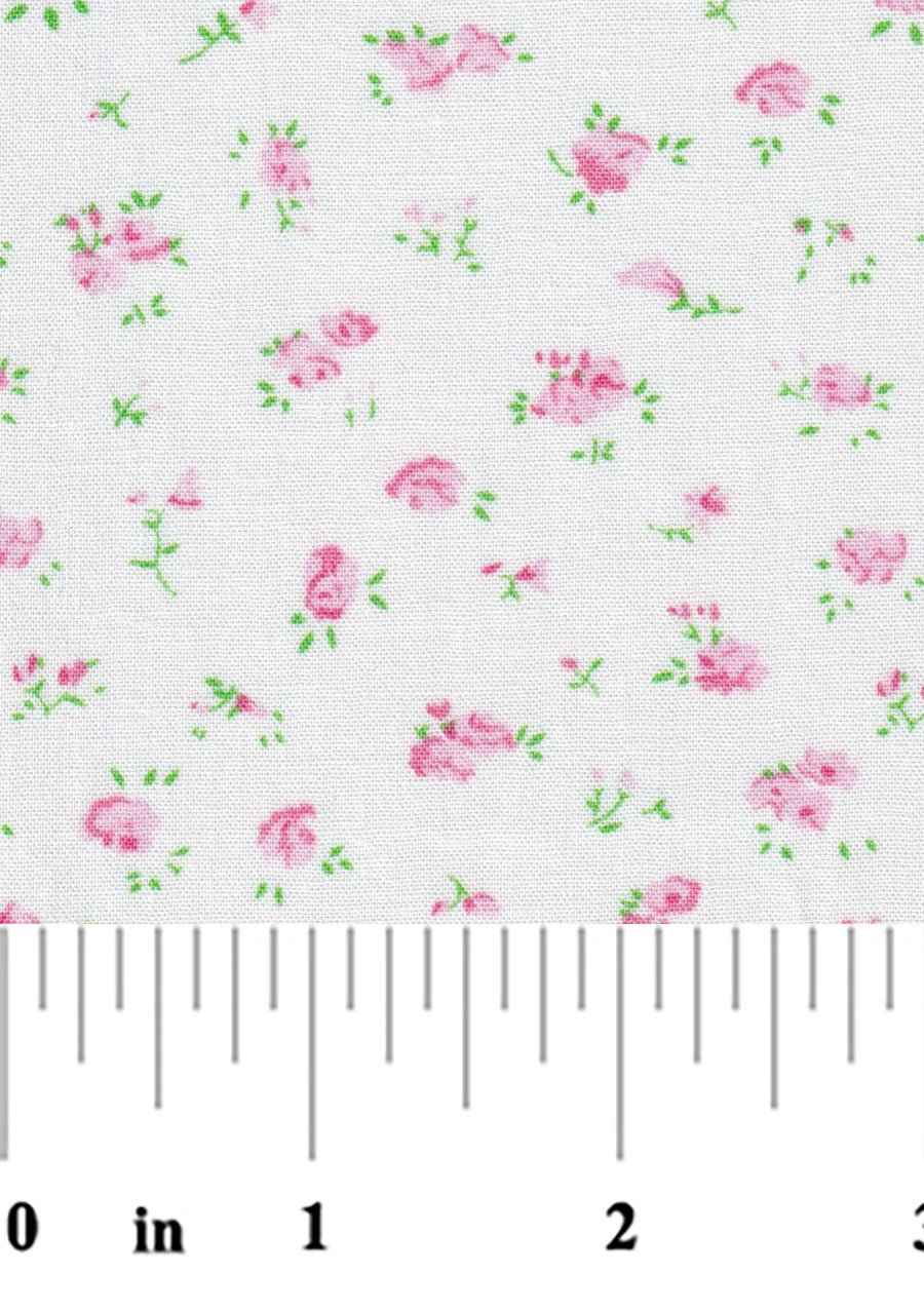 Pink and Green Floral 2368