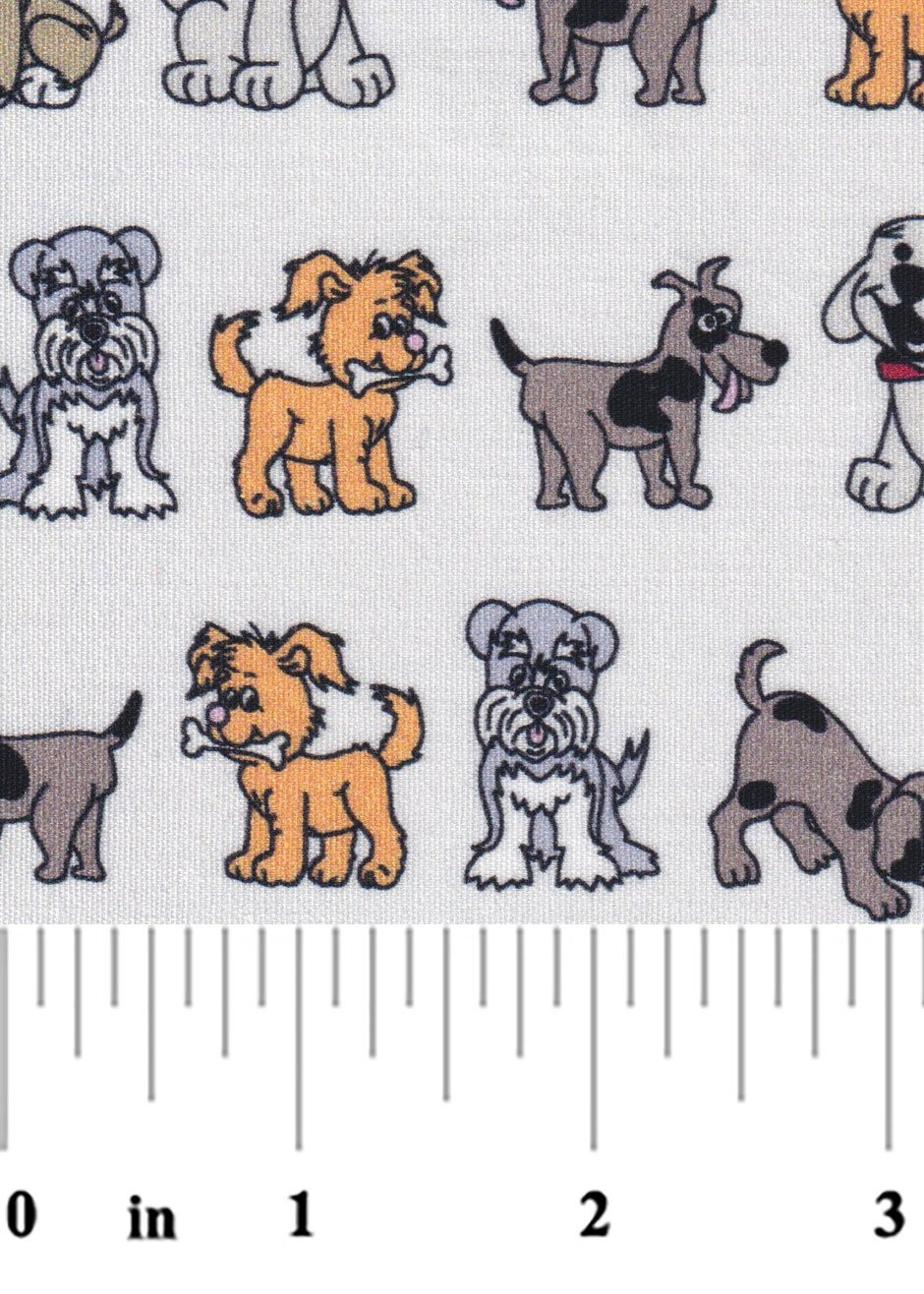 Puppy Dog Fabric 2378