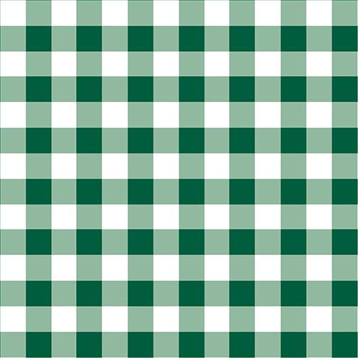 Warp & Weft Holiday Checkerboard Evergreen 2450Y 43