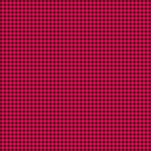 Warp & Weft Holiday Mini Gingham Cranberry 2454Y 86