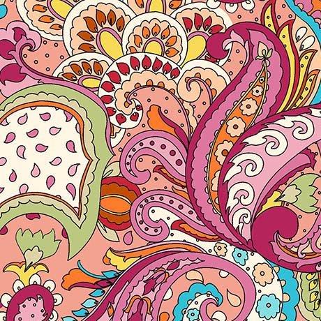 Thalia- Paisley Coral