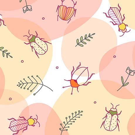 Thalia Beetles Lt Coral