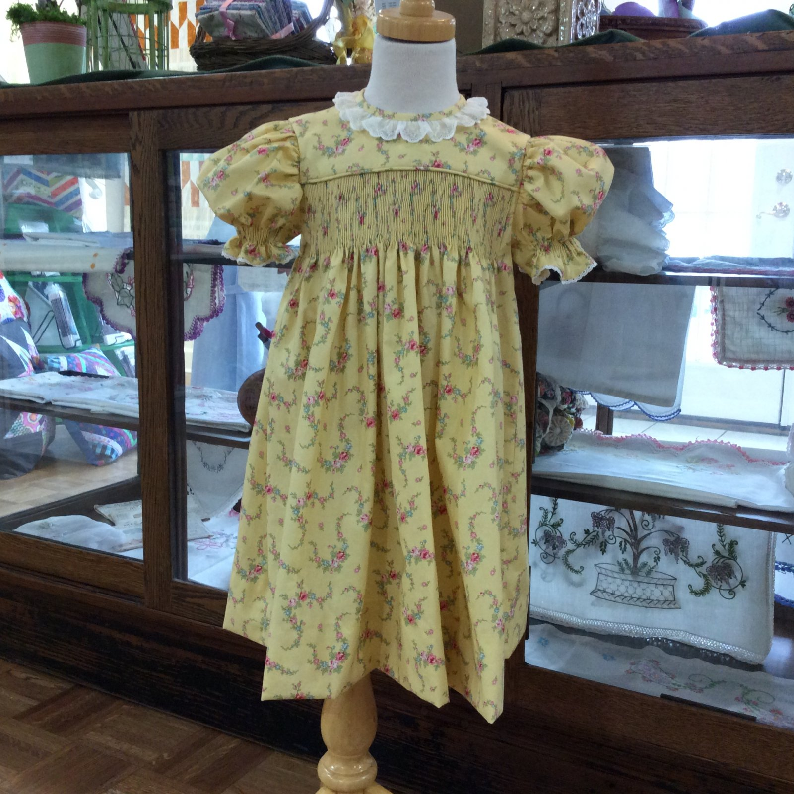 Ready to Smock Yoke Dress Size 3