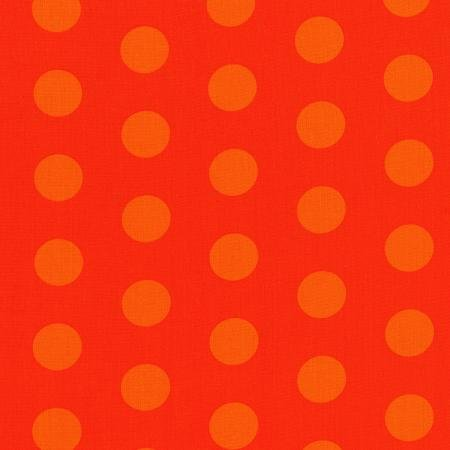 Happy Owl O Ween Orange Dots 3127