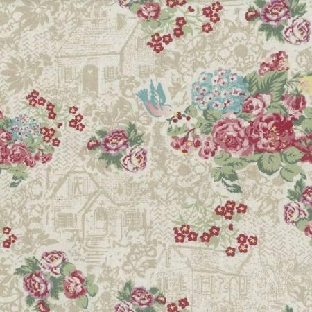 Lecien Loyal Heights 31931L-10 Cotton Linen Blend