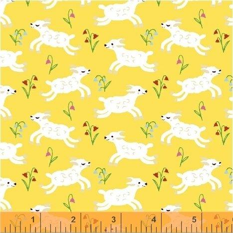 Nursery Rhymes Lambs Yellow 42588-4
