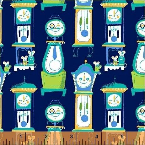 Nursery Rhymes Tick Tock Navy 42591-6