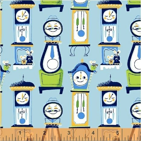 Nursery Rhymes Tick Tock Blue 42591-7