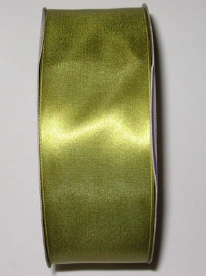 Double Face Satin Ribbon 1/8 Inch Green 108