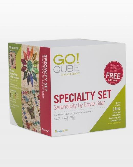 GO! Qube Specialty Set - Serendipity by Edyta Sitar 55783