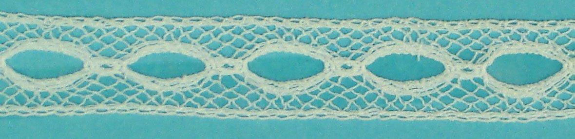 1/2 lace Beading -  White 39/6207