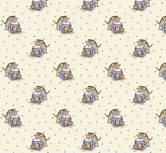 Cats in Blue & Yellow 6266-0350