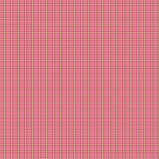 Warp and Weft Tiny Plaid Pink 6608Y 01