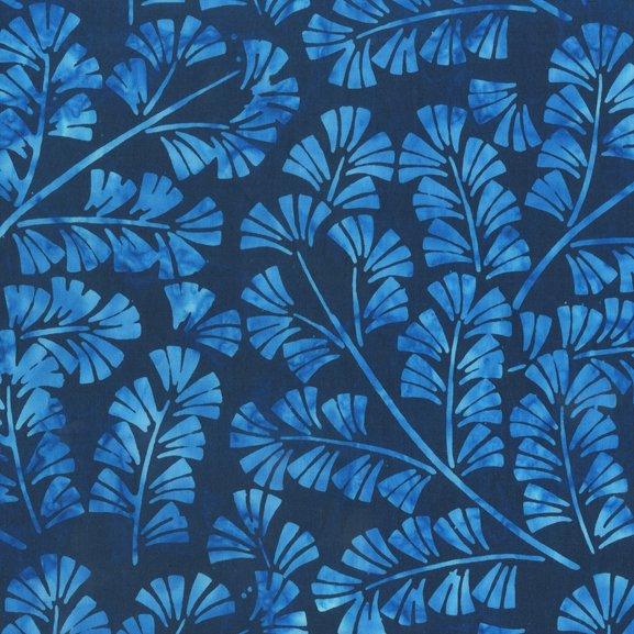 Anthology Indigo Batiks Blue 850Q-2