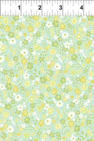Garden Delights II Green Floral 8GFS2