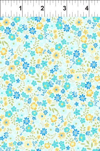 Garden Delights II Blue Floral 8GFS3
