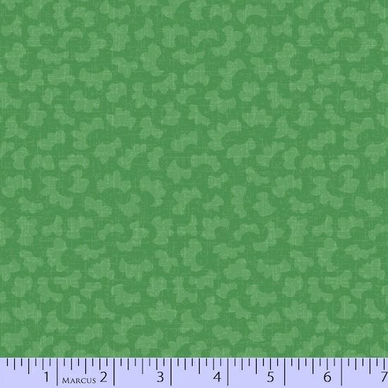 Getting to Know Hue Green Clouds R15 9706 0114 Remnant 1/4 yard