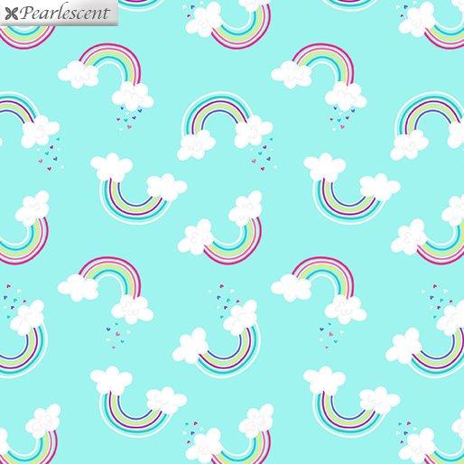 Unicorn Magic Magical Rainbow Aqua 9797P 04