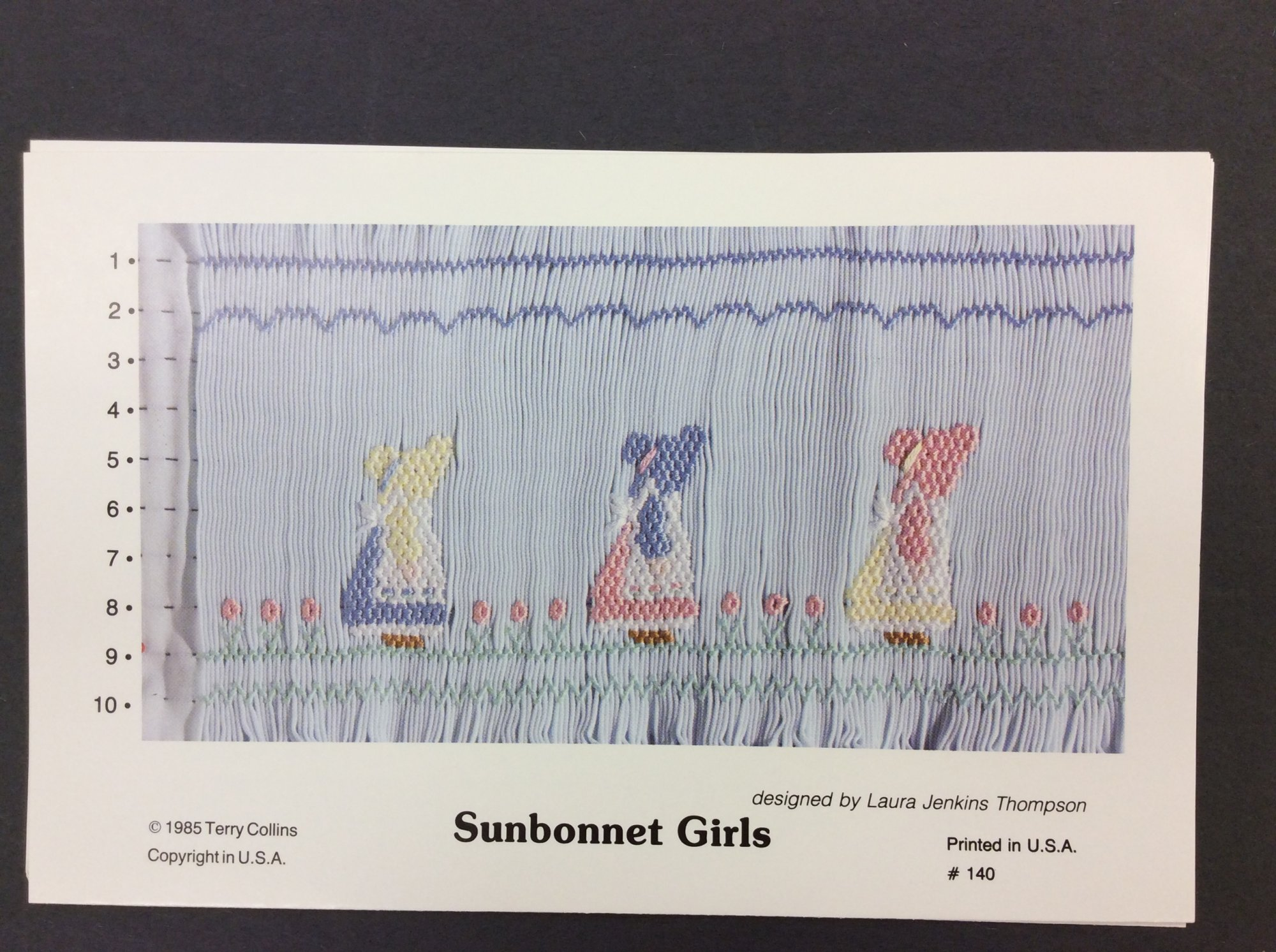 Sunbonnet Girls TC