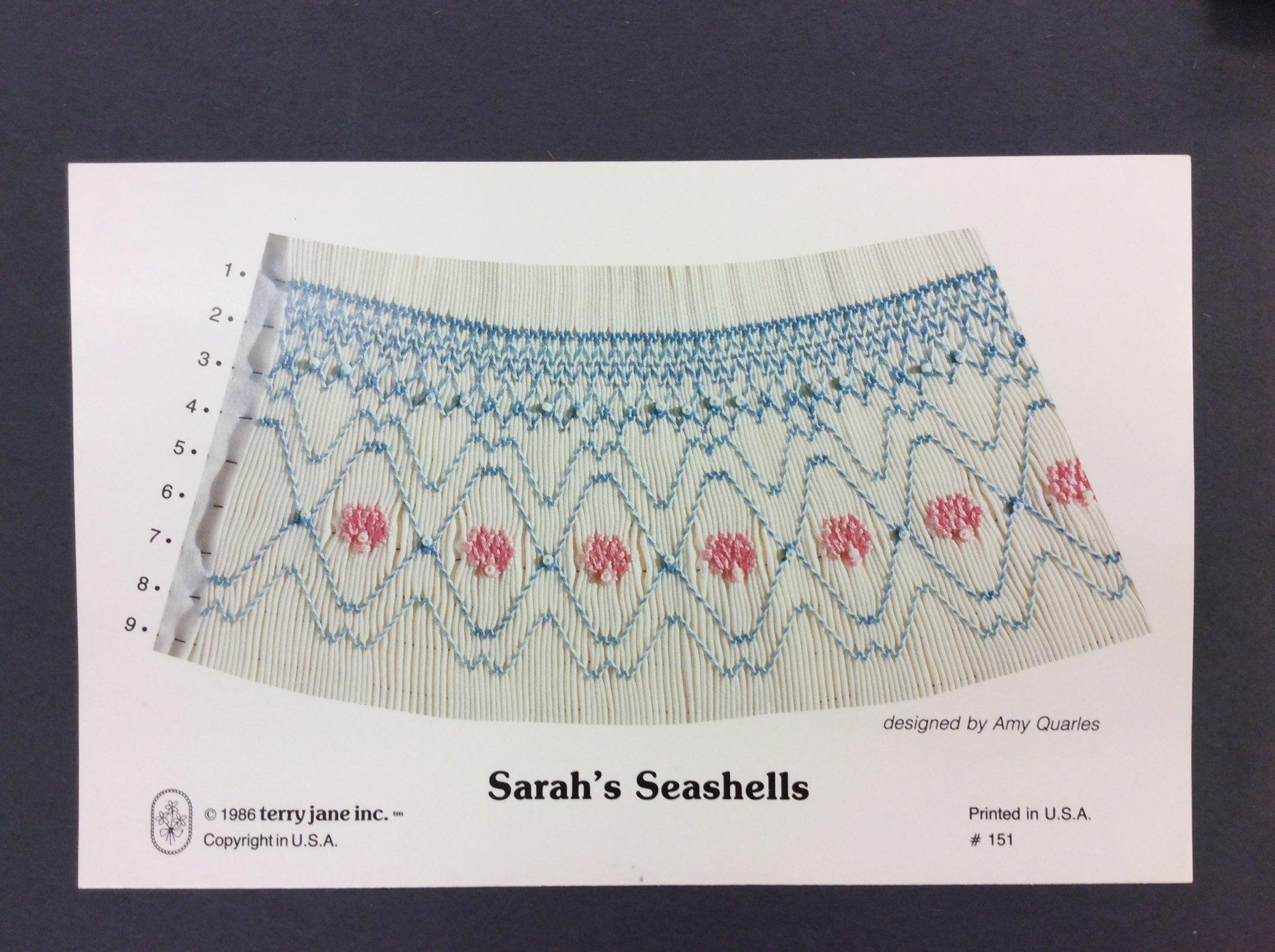 Sarah's Seashells TC