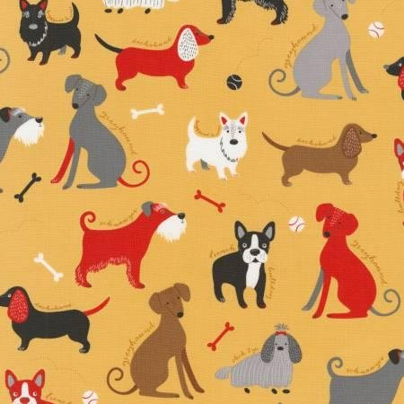 Vintage Classy Canines Allover 16496 200