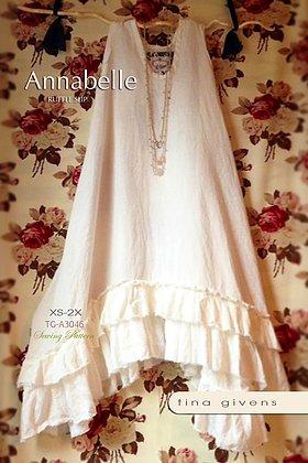 Annabelle Ruffle Slip Dress