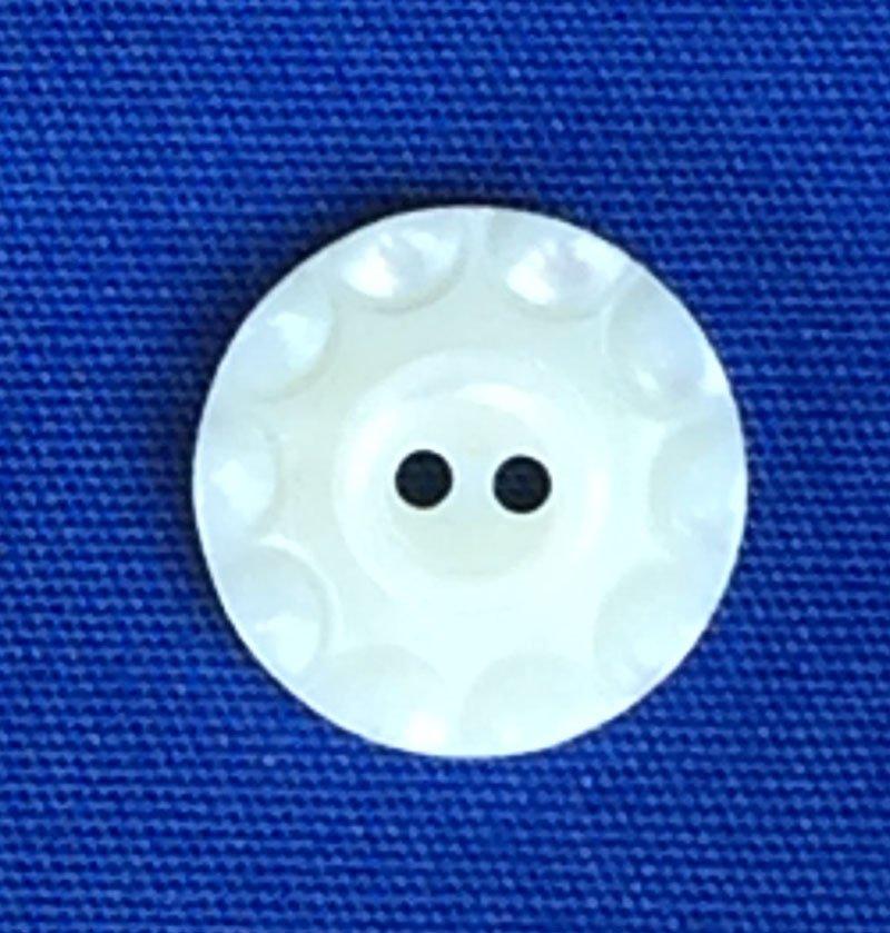 MOP Antique Circles Button from Wendy Schoen