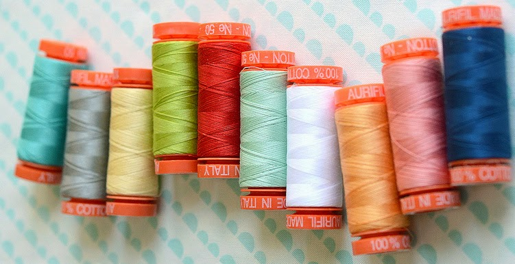 Aurifil Thread, 50 wt. cotton