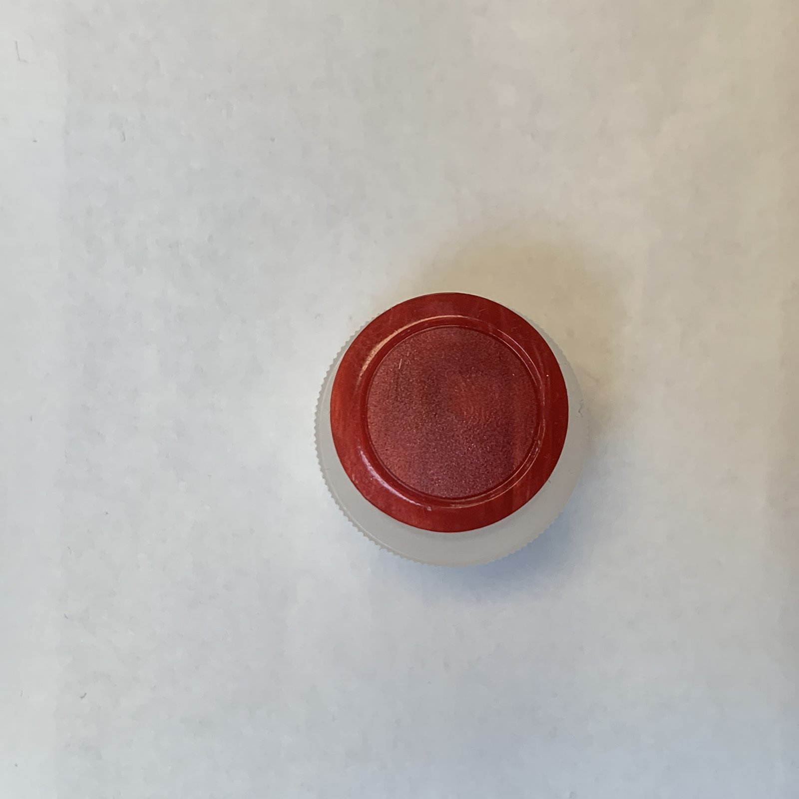 Vintage Red Button 3/4 Inch