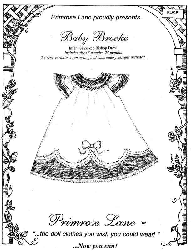 Baby Brooke Dress Pattern