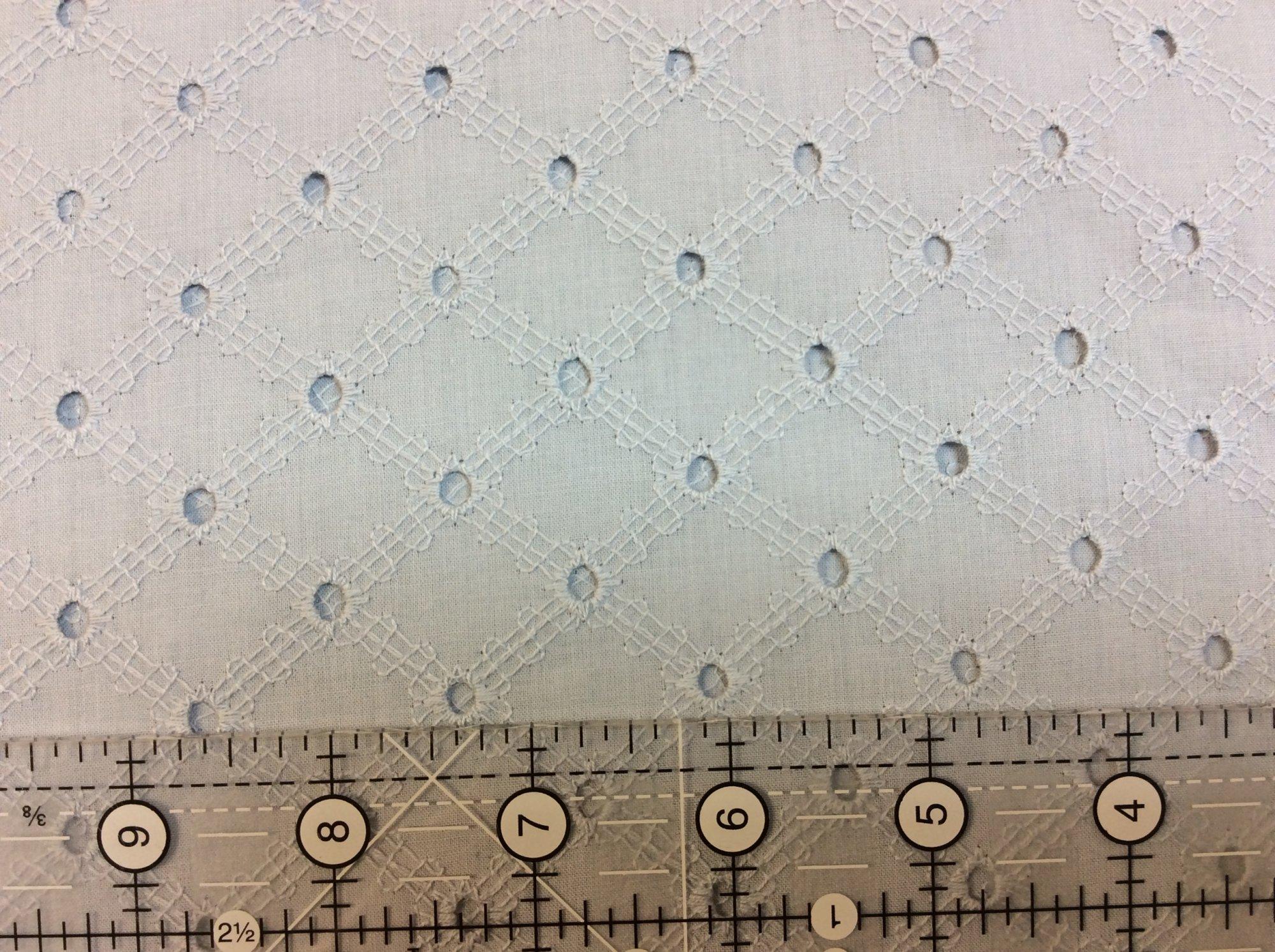 Lattice Eyelet ET6345 FOGX D Gray