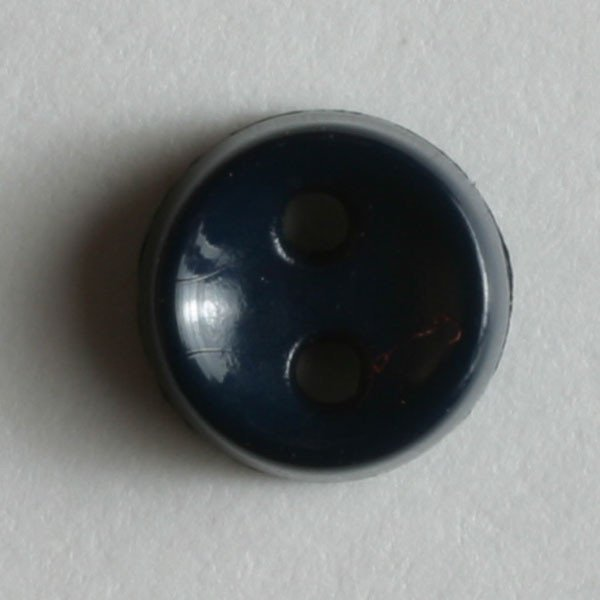 Tiny Black Button, 7mm