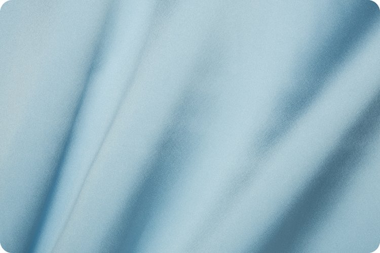Silky Satin Solid Blue 120