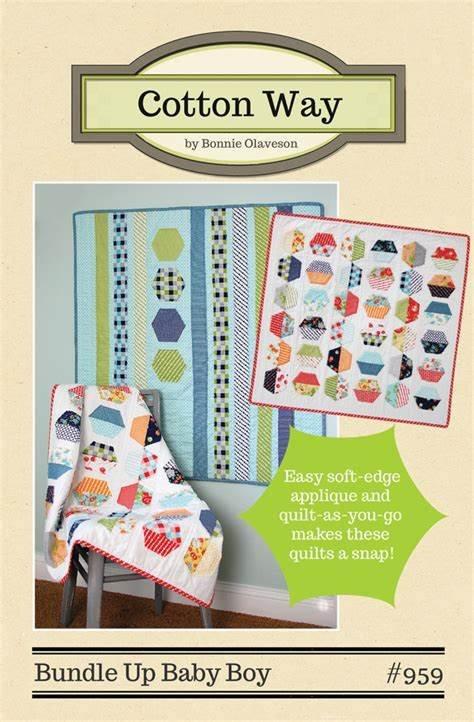 Bundle Up Baby Boy Quilt Pattern