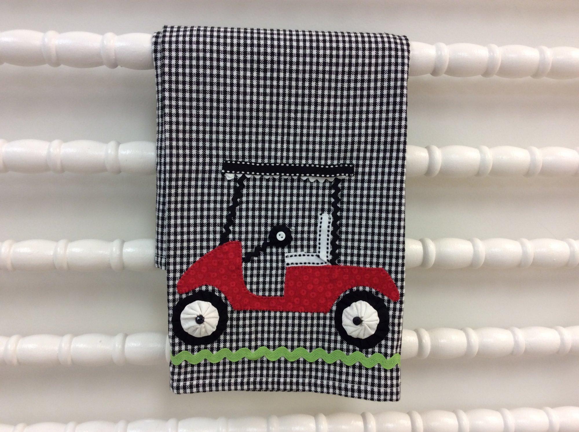 Golf Cart Tea Towel Kit