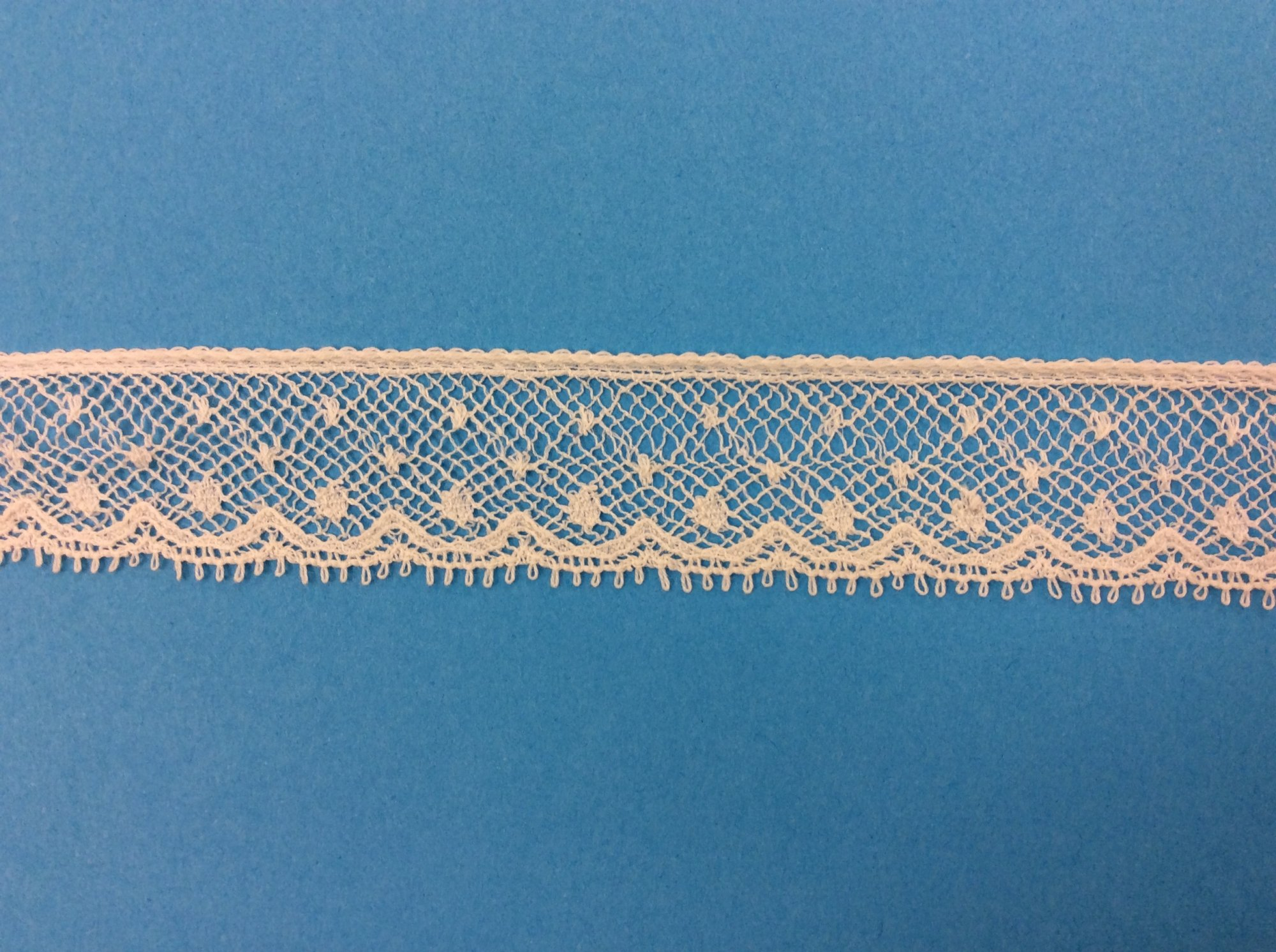 3/4 Lace Edging - Champagne 21179
