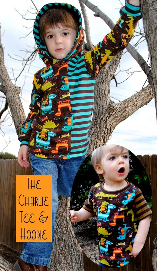 Charlie Tee & Hoodie
