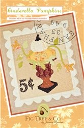 Cinderella Pumpkins Wall Quilt Pattern