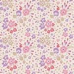 Tilda Plum Garden Flower Confetti Sand