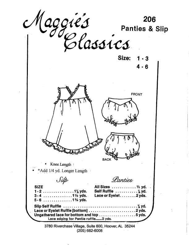 Panties & Slip MC