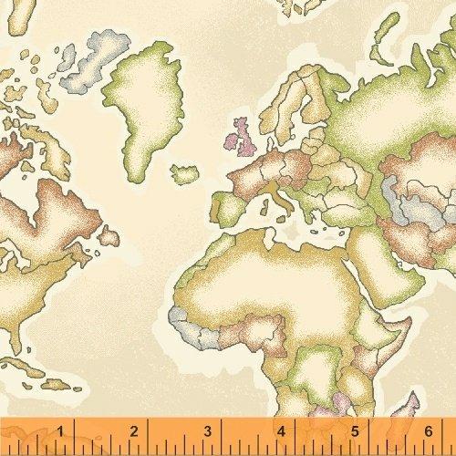 Meridian Cream Map 50035-1