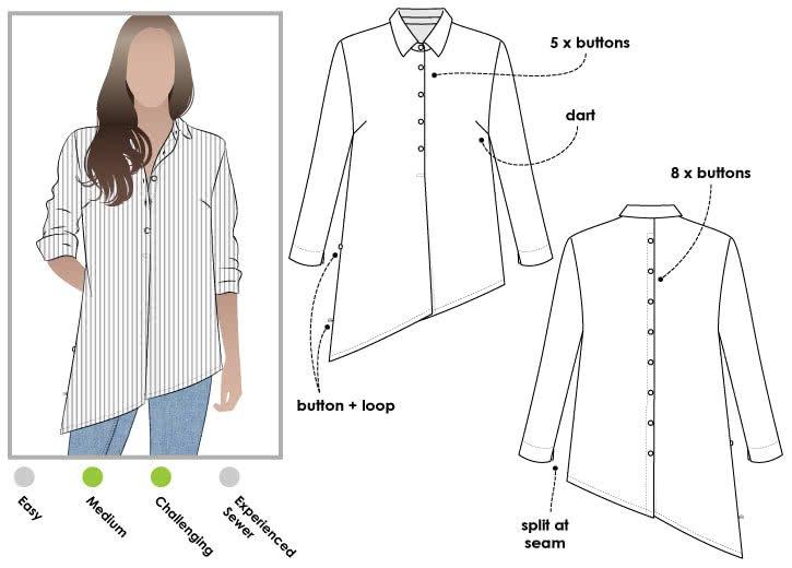 Crystal Over-Shirt