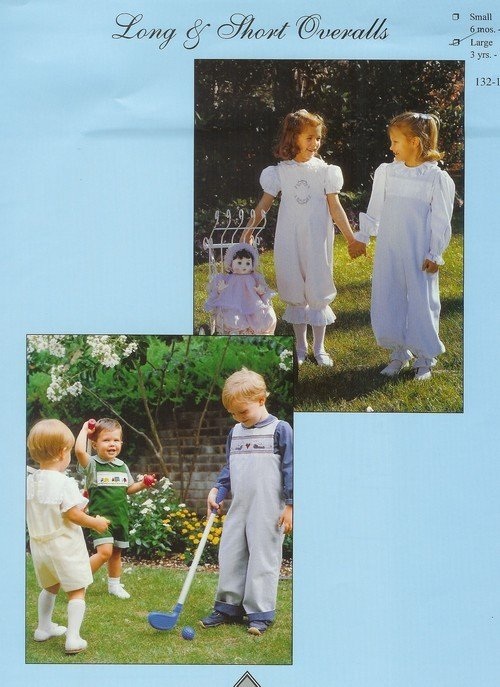 Long and Short Overalls CW