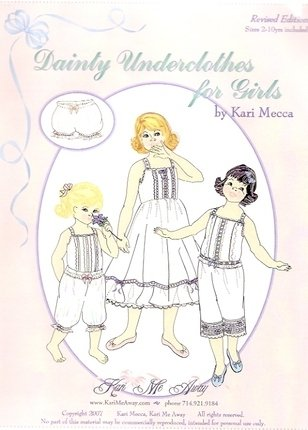 Dainty Underclothes for Girls & Babies