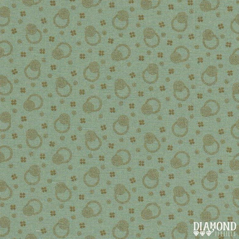 A Common Thread Dots & Blooms Teal 10598