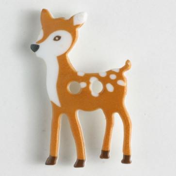 Brown Deer Button