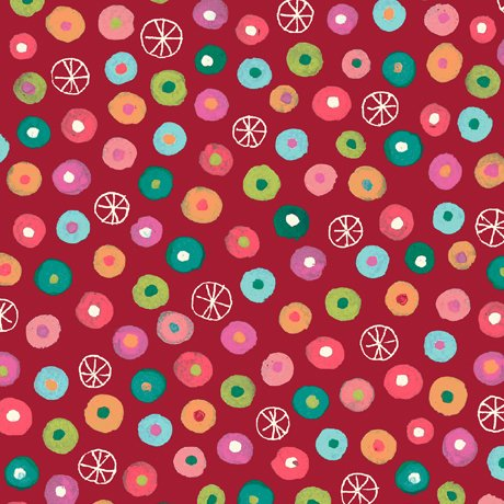 Jamboree- Dot Geometric Red 1649 26780 R